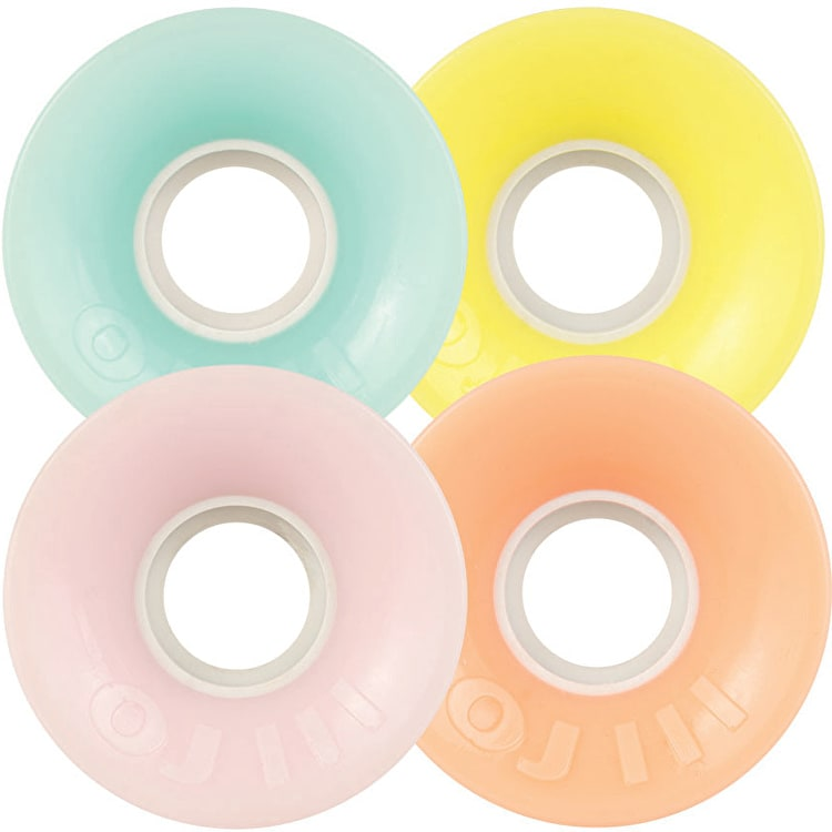 OJ Mini Hot Juice Pastel Mix 78a Skateboard Wheels - Multi 55mm