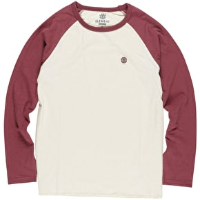 Element Blunt Longsleeve T-Shirt - Napa Red