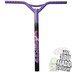 MGP Hot head Batwing Scooter Bars - Purple
