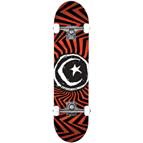 Foundation Star & Moon Zig Zag Complete Skateboard - 7.75
