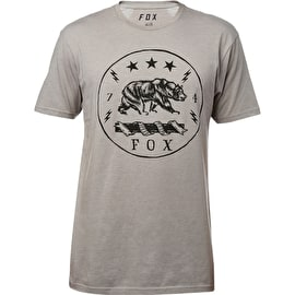Fox Revealer T-Shirt - Heather Dark Grey