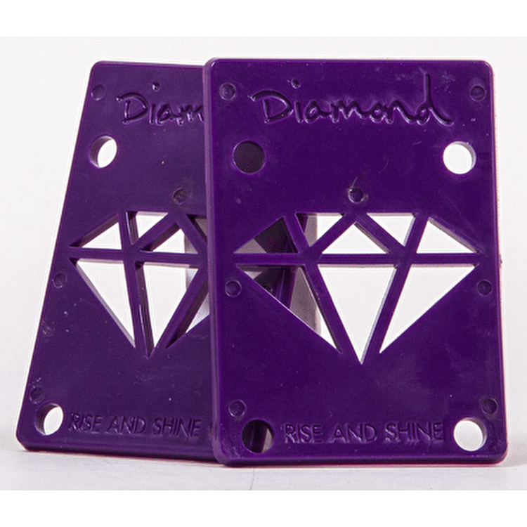 Diamond Rise and Shine Risers - Purple