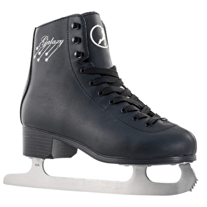 SFR Galaxy Ice Skates - Black (2015 Model)