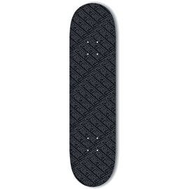 Fracture All Over Comic Skateboard Deck - Black 8