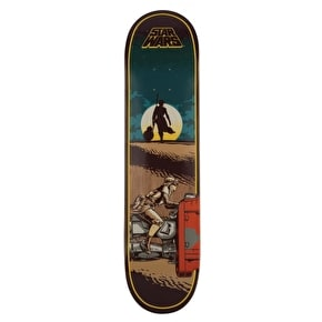 Santa Cruz x Star Wars Skateboard Deck - Episode VII Rey 7.8