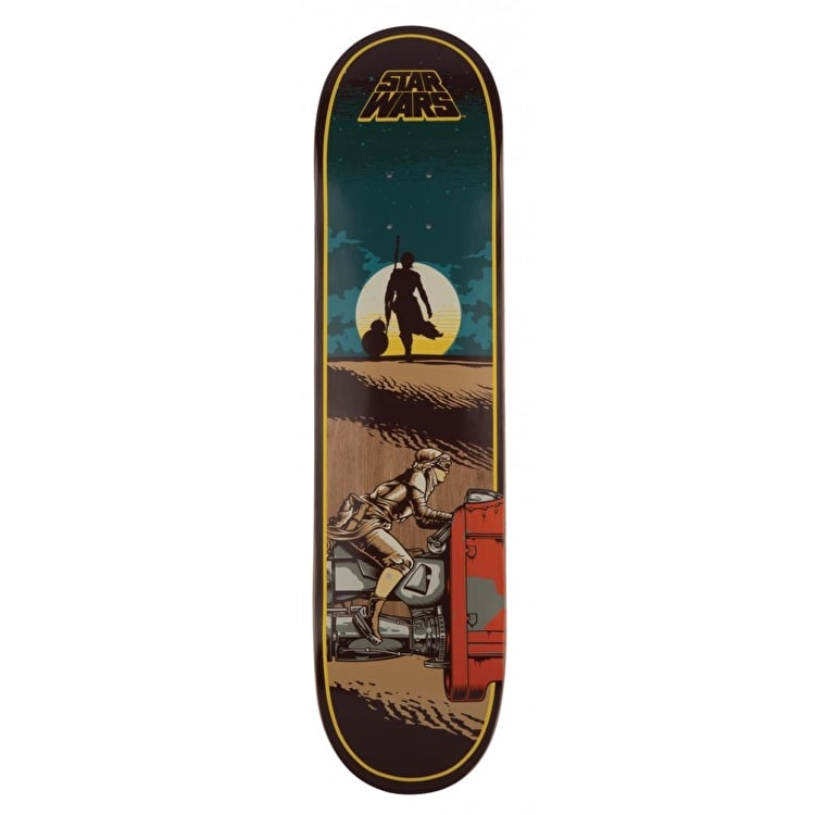 Santa Cruz x Star Wars Skateboard Deck - Episode VII Rey 7.8""