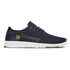 Etnies Scout Shoes - Navy/White/Gum