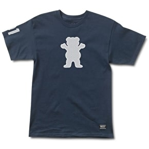 Grizzly Draft Pick OG Bear T-Shirt - Navy