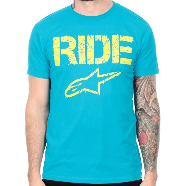 Alpinestars Ride Headlong T-Shirt - Turquoise