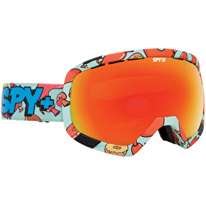 Spy Platoon The Seventh Letter x Dabs Myla Goggles - Bronze/Red Spectra