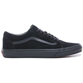 Vans Old Skool Skate Shoes (Suede) - Black/Black