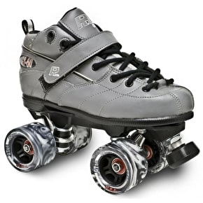 Sure-Grip Rock GT-50 Quad Derby Roller Skates-Grey
