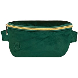 Mi-Pac Velvet Bum Bag - Forest Green
