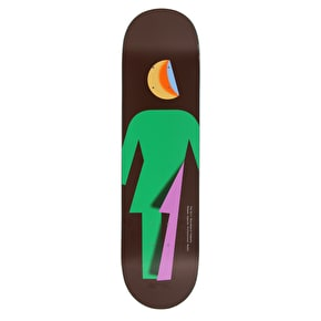 Girl Folded OG Mike Mo Skateboard Deck - 8.25