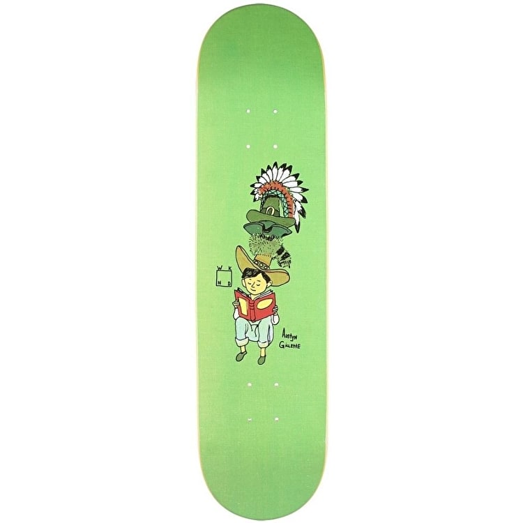 WKND Gilette Many Hats Skateboard Deck - 8.0""