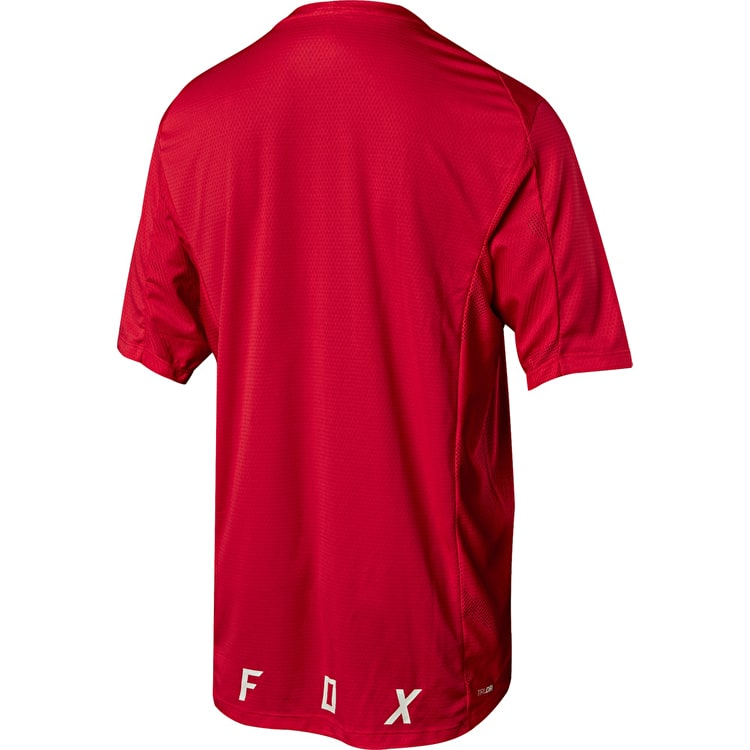 Fox Demo Camo Burn Jersey - Bright Red