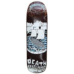 Death Zarosh Pirate Curb Skateboard Deck - 9.0