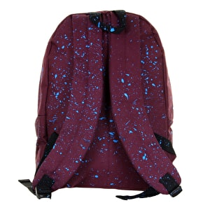 Hype Splat Backpack - Burgundy/Blue