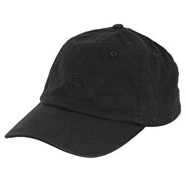 Skatehut 6 Panel Dad Cap - Black