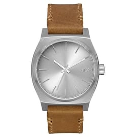Nixon Time Teller Pack Watch - All Silver/Brown/Tan