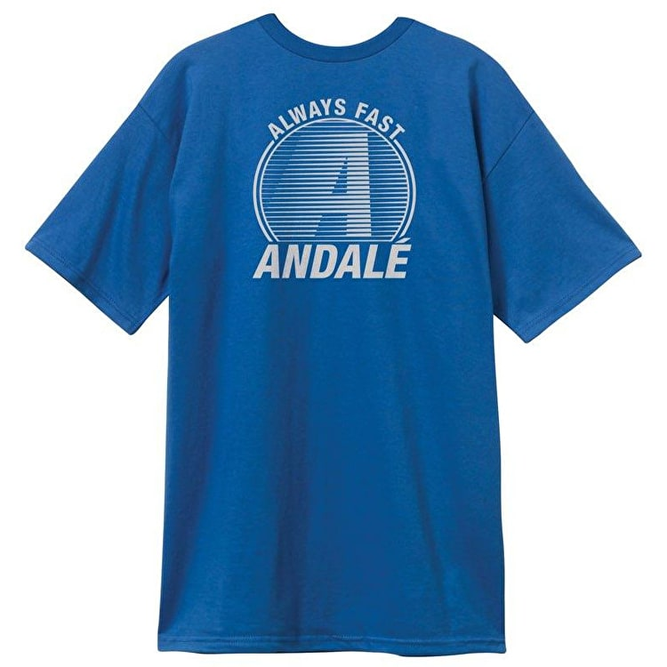 Andale Capital A Premium T-Shirt - Royal Blue