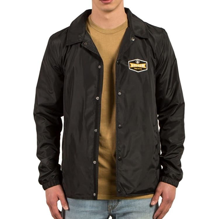Volcom Brews Coaches Jacket - Black