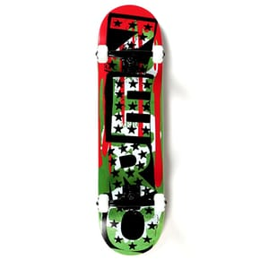 Zero Mash Up Premium Complete Skateboard - Punk Stars/3 Skulls w/Blood 8