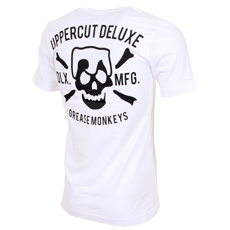 Uppercut Deluxe Grease Monkey T shirt - White