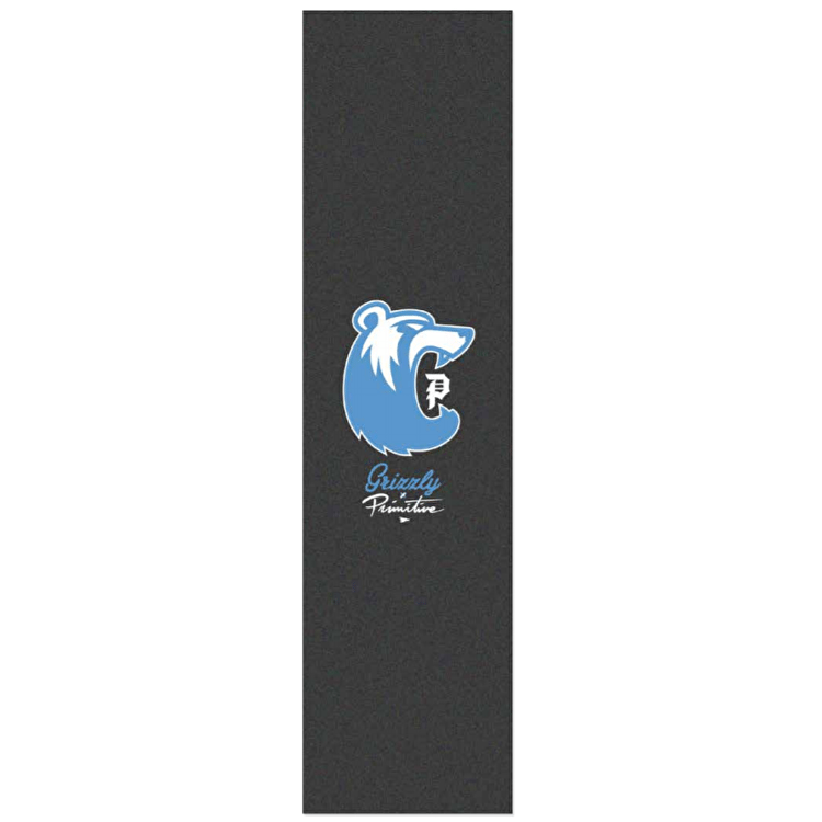 Primitive x Grizzly Mascot Skateboard Grip Tape