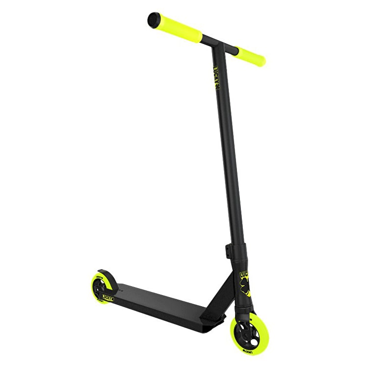 Lucky Crew Pro Complete Scooter - Black/Highlighter