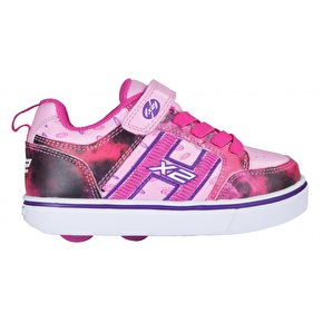 Heelys X2 Bolt Light Up - Pink/Purple/Space