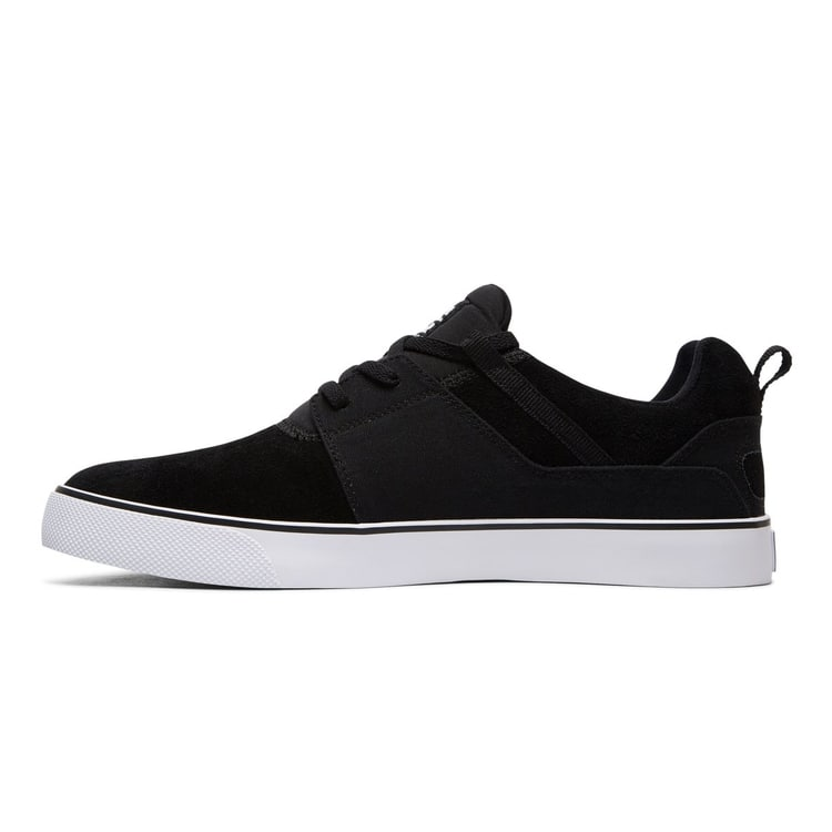 DC Heathrow Vulc Skate Shoes - Black/White