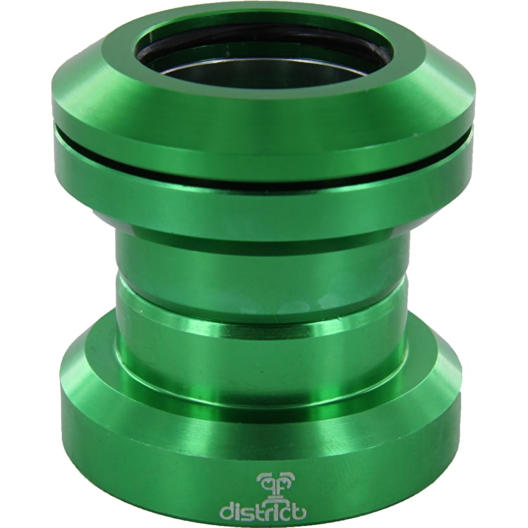 District Pro Anodized Headset - Green