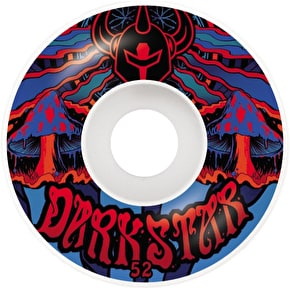 Darkstar Trippy Skateboard Wheels - Red/Blue 52mm