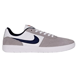 Nike SB Team Classic Skate Shoes - Wolf Grey/Blue Void/White Team Orange