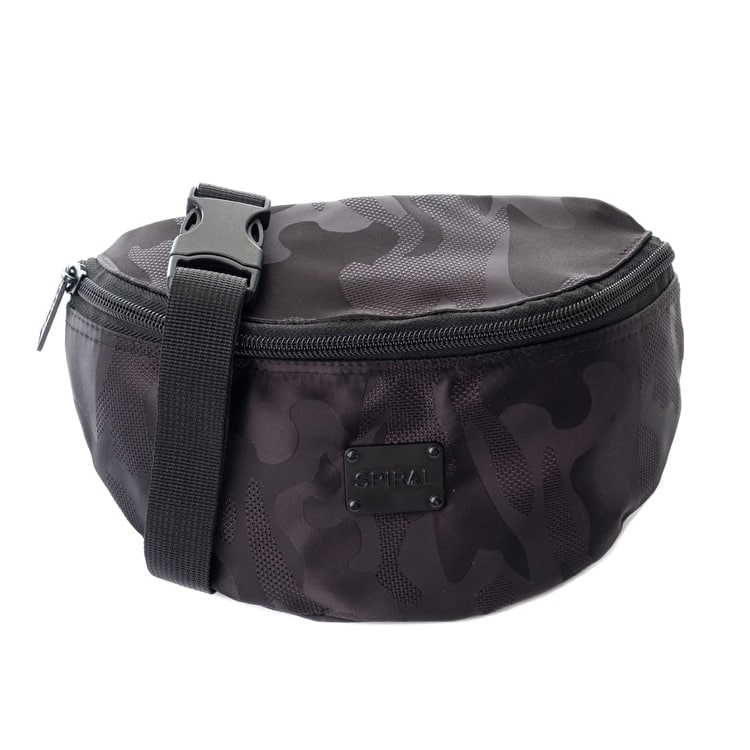 Spiral Harvard Camo Blackout Bum Bag