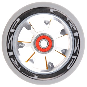 Crisp Hollowtech 100mm Scooter Wheel - Grey/Gold