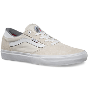 Vans Gilbert Crockett Pro Skate Shoes - Whisper White
