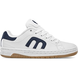 Etnies Callicut Womens Skate Shoes - White/Navy/Gum