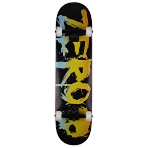 Zero Blood Rainbow Complete Skateboard - Black/Rainbow 7.75
