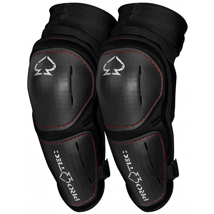 Pro-Tec Pinner LT Elbow Pads - Black/White