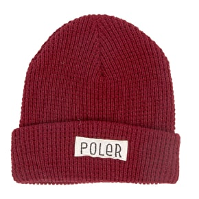Poler Workerman Beanie - Berry