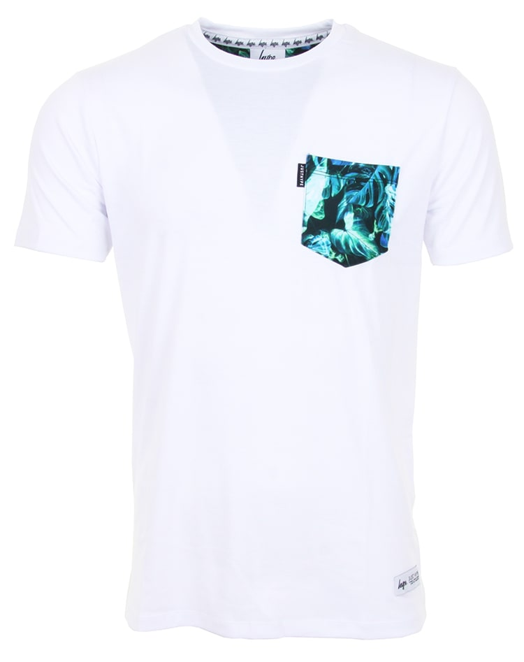 Hype Neon Jungle Pocket T shirt