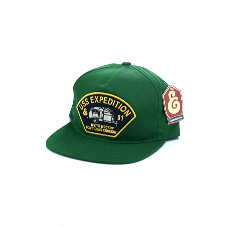 Expedition One USS Snapback Cap - Green