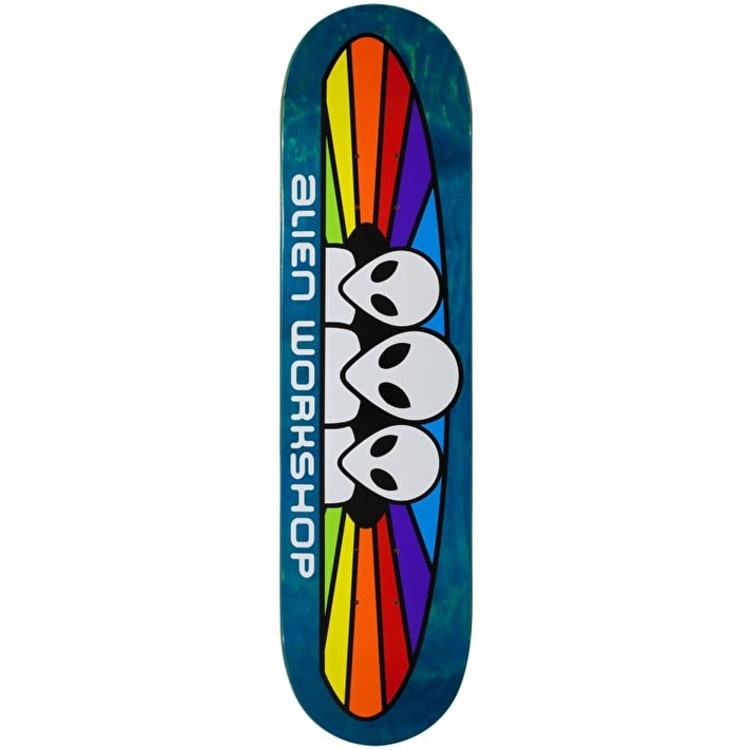 Alien Workshop Spectrum Logo Skateboard Deck - 8""