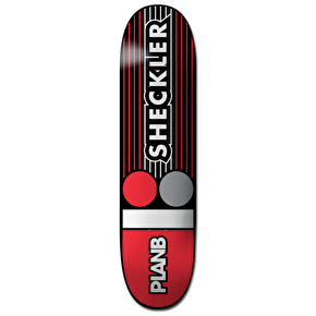 Plan B Lines Pro Spec Skateboard Deck - Sheckler 8
