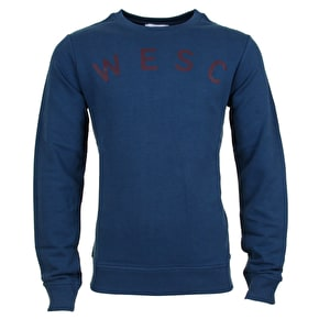 WeSC Blake Sweatshirt - Dark Blue