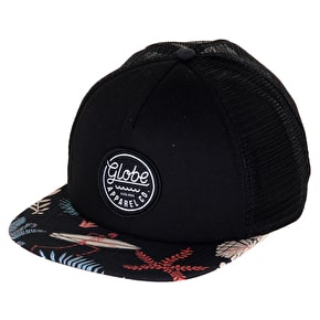 Globe Expedition Trucker Snapback Cap - Black/Multi