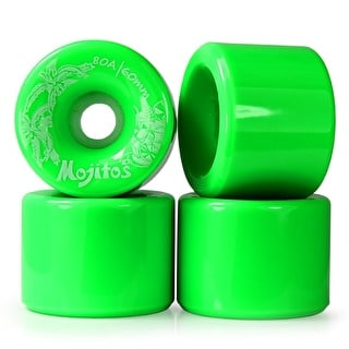 Havana Mojito 60mm 90a Longboard Wheels (Pack of 4)