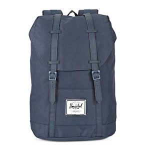 Herschel Retreat Backpack - Navy/Navy PU